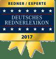 Redner & Experte im Deutsches Rednerlexikon 2017