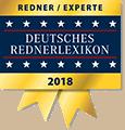 Redner & Experte im Deutsches Rednerlexikon 2018