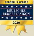 Redner & Experte im Deutsches Rednerlexikon 2020