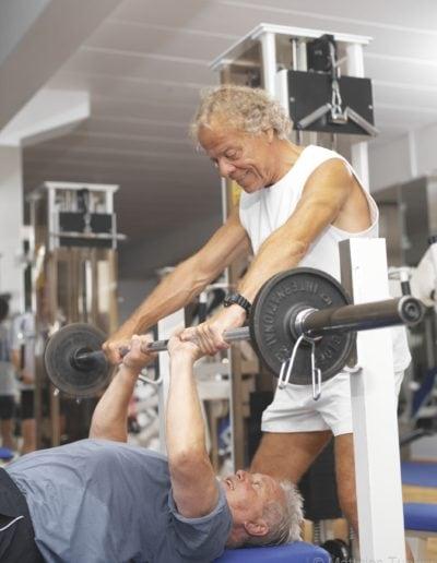 Fitness und Bewegung für 50+