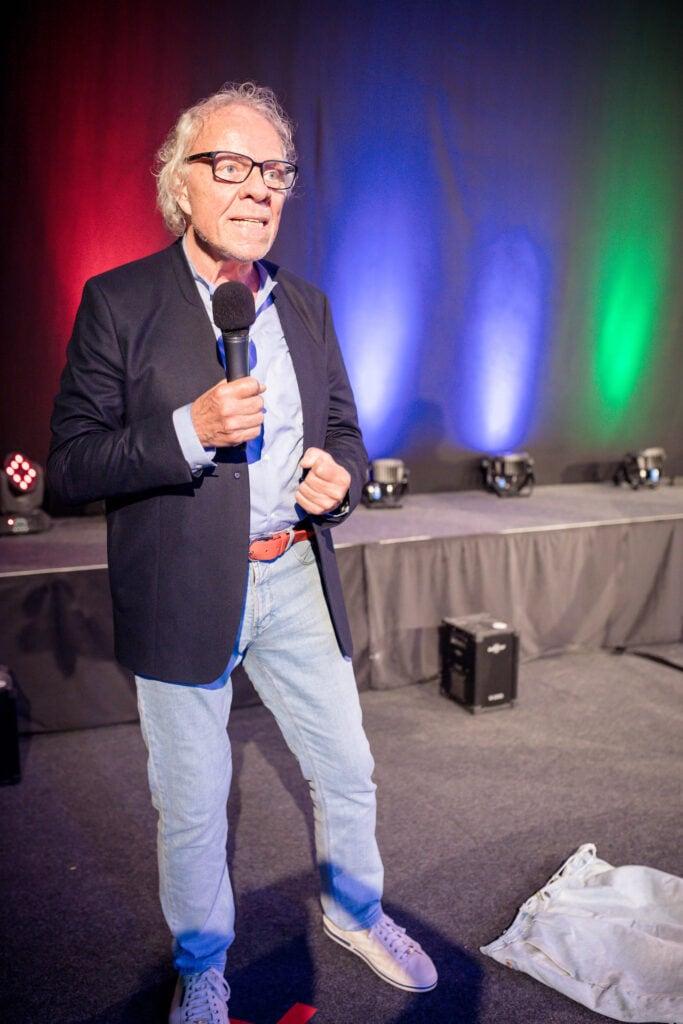 Gewinner des Silent Speaker Battle Siegfried Ott